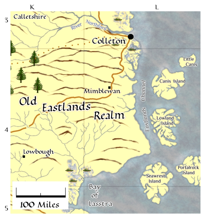 Eastern Eastlands map thumbnail