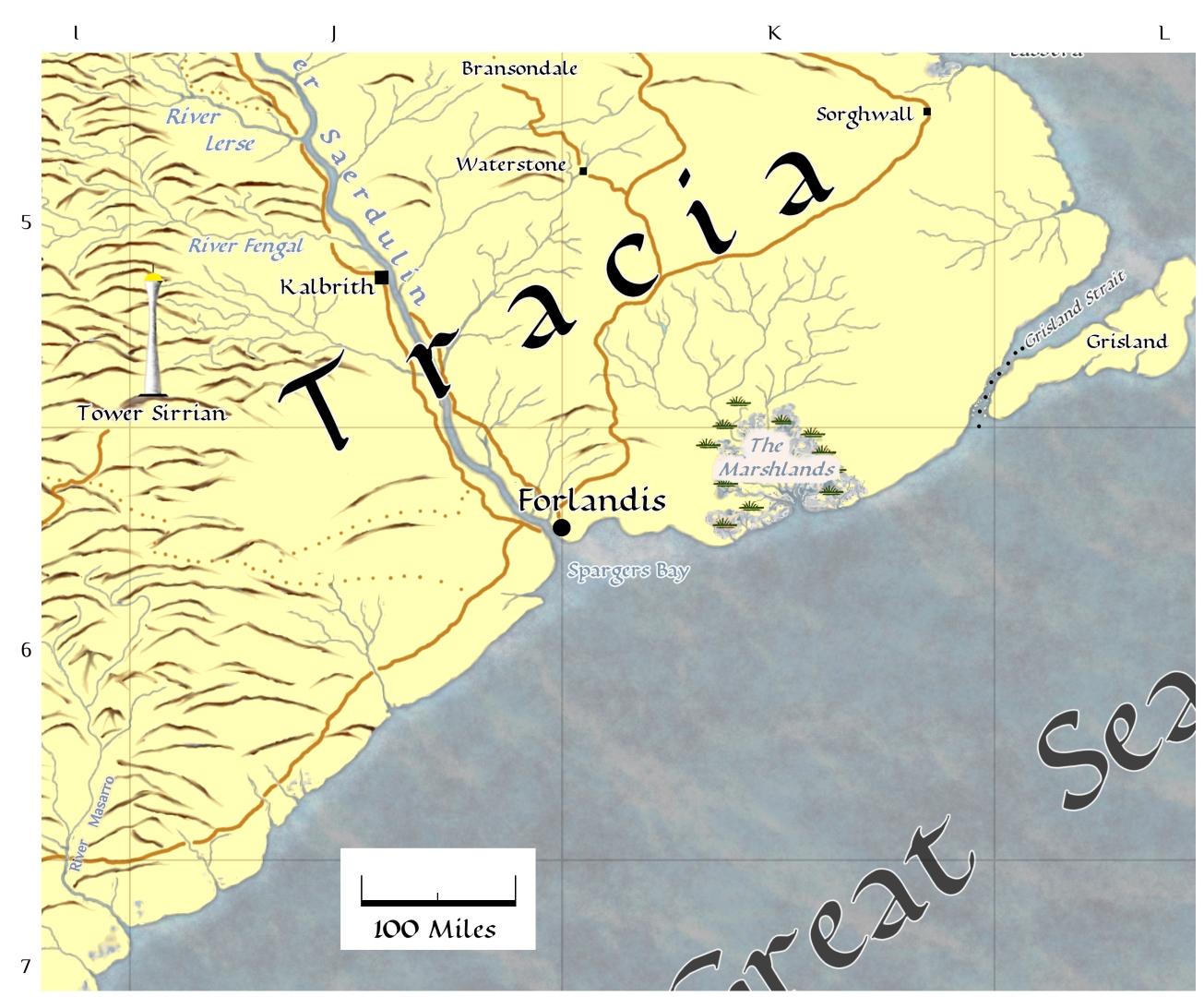 Tracia map thumbnail