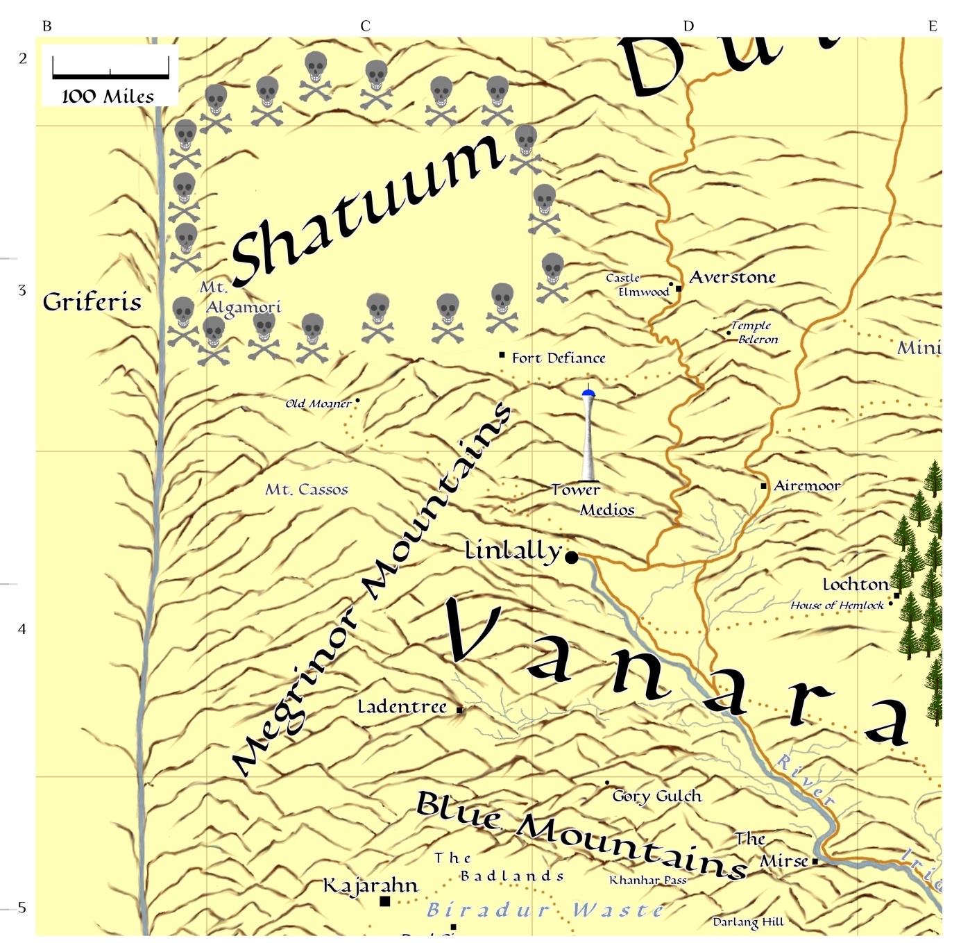 Vanara and Shatuum map thumbnail