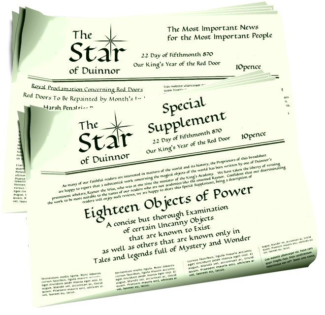 The Duinnor Star and Special Supplement